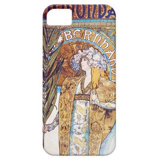 iPhone 5 van Alphonse Mucha Gismonda Hoesje
