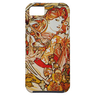 iPhone 5 van Alphonse Mucha hoesje