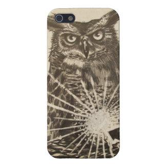 iPhone 5 van Brian Montuori Owl hoesje iPhone 5 Cases