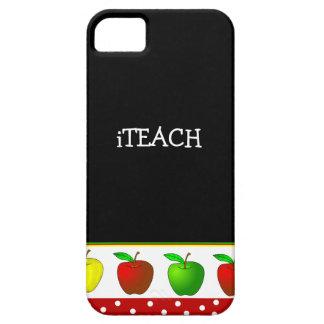 iPhone 5 van de Appelen van de leraar Kleurrijke H Barely There iPhone 5 Hoesje