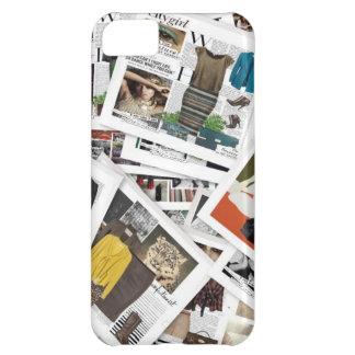 iPhone 5 van de Collage van de mode Hoesje