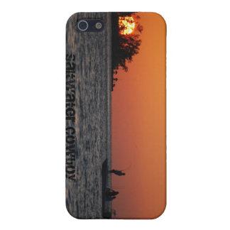iPhone 5 van de Cowboy van het zoutwater Hoesje iPhone 5 Hoesjes