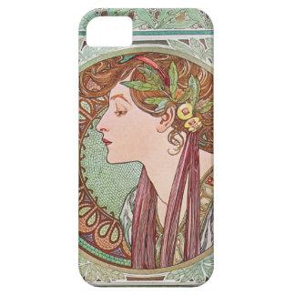 iPhone 5 van de Jugendstil van Alphonse Mucha Barely There iPhone 5 Hoesje