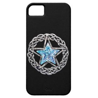 iPhone 5 van de Ster van het Kristal van Pentagram Barely There iPhone 5 Hoesje
