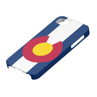 iPhone 5 van de Vlag van Colorado Hoesje