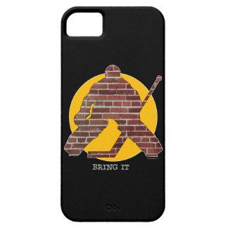 iPhone 5 van Goalie van de Bakstenen muur hoesje