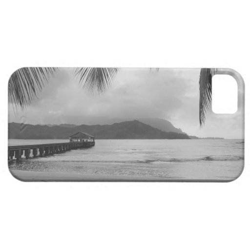 iPhone 5 van Hawaï Kauai - Pijler Hanalei