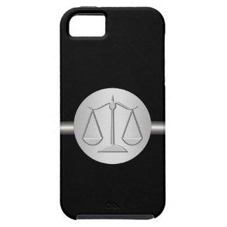 iPhone 5 van het monogram de Procureur van het Hoe Tough iPhone 5 Hoesje
