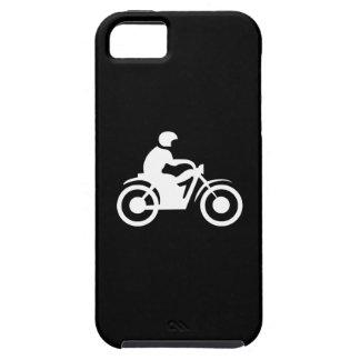 iPhone 5 van het Pictogram van de motorfiets Tough iPhone 5 Hoesje