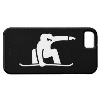 iPhone 5 van het Pictogram van Snowboarding Hoesje