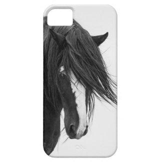 iPhone 5 van het Wild paard van het Portret van Wa Barely There iPhone 5 Hoesje