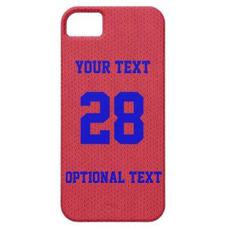 iPhone 5 van Jersey van sporten het Geweldige Barely There iPhone 5 Hoesje