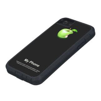 """iPhone 5 van """"mijn Apple"""" en het hoesje van"""