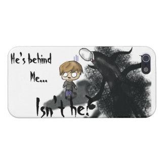 iPhone 5 van Pewdie van Slenderman Hoesje iPhone 5 Cases