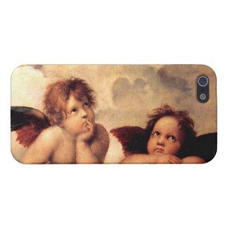 iPhone 5 van Sistine Madonna van de Cherubijnen va iPhone 5 Case
