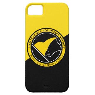 iPhone 5 van Voluntaryist hoesje-Partner het Hoesj Barely There iPhone 5 Hoesje