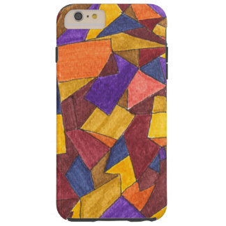 iPhone 6/6 plus met abstract ontwerp Tough iPhone 6 Plus Hoesje