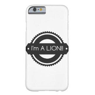 """iPhone 6/6s """"ik een LEEUW!!"""" ben Hoesje"""