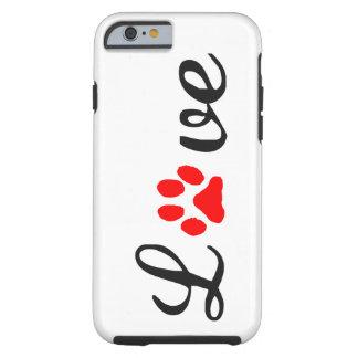 iPhone 6/6s, Taaie de liefdehuisdieren van het Tough iPhone 6 Hoesje