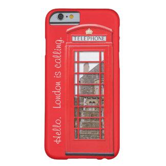 iPhone 6 Doos Londen van de Telefoon van het Barely There iPhone 6 Hoesje