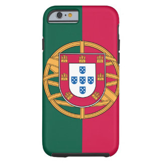 iPhone 6 hoesje, Portugese Vlag Tough iPhone 6 Hoesje