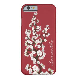 iPhone 6 (rood) Geval van de Bloesems van de kers Barely There iPhone 6 Case