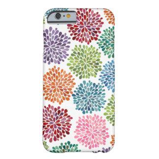 iPhone 6 van de Bloemen van de Dahlia van de Water Barely There iPhone 6 Hoesje