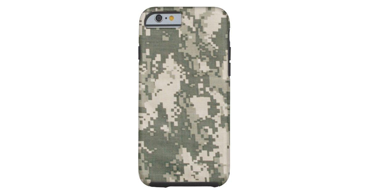 Iphone 6 van de camouflage van het leger hoesje for Telephone leger