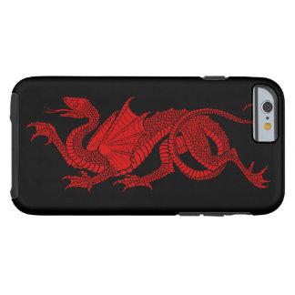 iPhone 6 van de Draak van het mannen Rode Hoesje