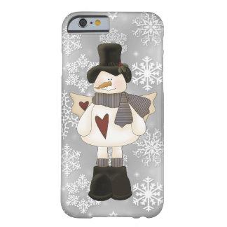 iPhone 6 van de Engel van de Sneeuwman van Barely There iPhone 6 Hoesje
