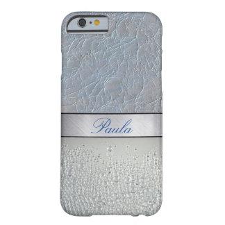 iPhone 6 van de Fonkeling van de luxe Zilveren Barely There iPhone 6 Hoesje