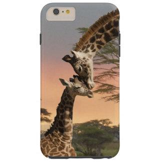 iPhone 6 van de moeder en van de Giraf van het Tough iPhone 6 Plus Hoesje