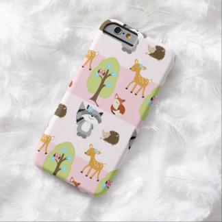 iPhone 6 van de Natuur van Girly Bos Roze Hoesje