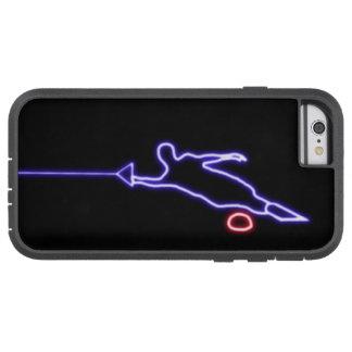 iPhone 6 van de Skiër van het Water van de slalom Tough Xtreme iPhone 6 Hoesje