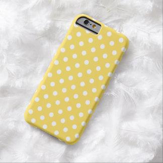 iPhone 6 van de stip hoesje in Gele de Schil van