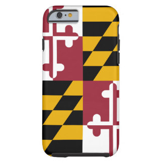 iPhone 6 van de Vlag van Maryland hoesje