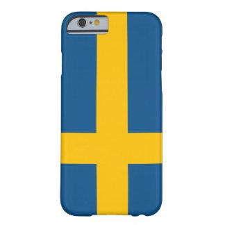 iPhone 6 van de Vlag van Zweden hoesje (hoogte - k