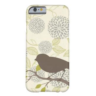 iPhone 6 van de vogel & van de Bloem hoesje Barely There iPhone 6 Hoesje
