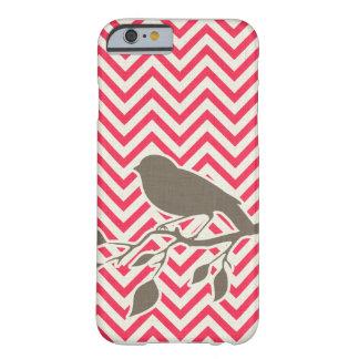 iPhone 6 van de vogel & van de Chevron geval Barely There iPhone 6 Hoesje