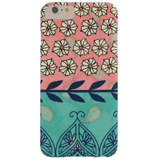 iPhone 6 van Girly Boho Paisley van Hipster plus Barely There iPhone 6 Plus Hoesje