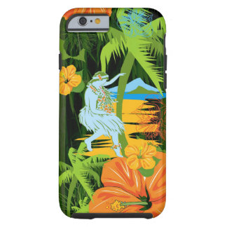 iPhone 6 van Hawaï van Aloha geval Tough iPhone 6 Case