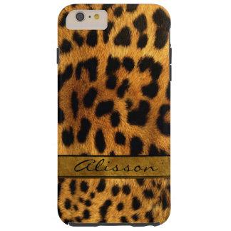 iPhone 6 van het Bont van de jachtluipaard plus Tough iPhone 6 Plus Hoesje