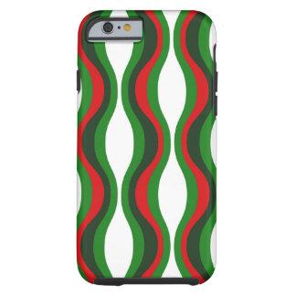 iPhone 6 van het Patroon van Kerstmis shell geval Tough iPhone 6 Hoesje