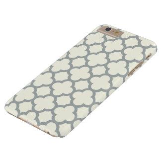 iPhone 6 van Quatrefoil plus Hoesje in Grijs