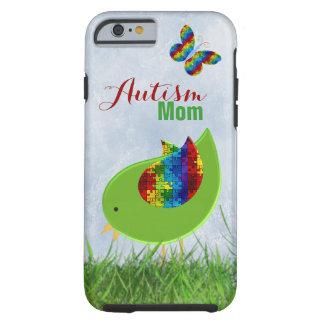 iPhone 6 van Shell van het Mamma van het autisme Tough iPhone 6 Hoesje