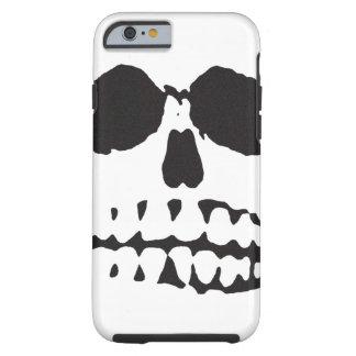 iPhone 6 van Vibe van het Gezicht van de schedel h Tough iPhone 6 Hoesje
