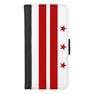 iPhone 7/8 Hoesje van de Portefeuille met de vlag
