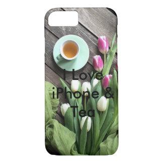 iPhone 7 bloemen super hoesje