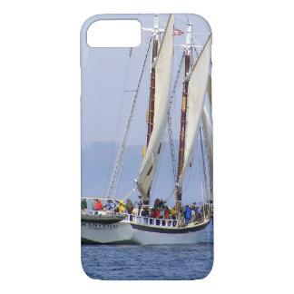 iPhone 7 de Dwars Mi Zeilboot van het Hoesje in
