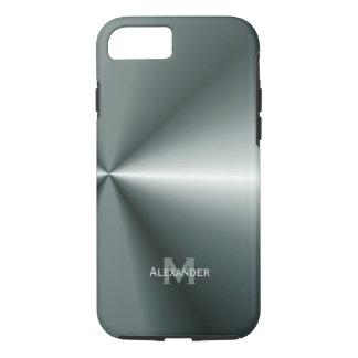 iPhone 7 hoesje: Gepersonaliseerd: Het metaal iPhone 7 Hoesje
